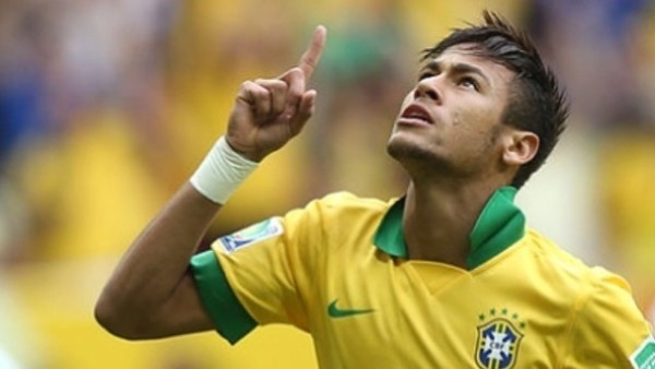 neymar receives four match international ban 2015 soccer