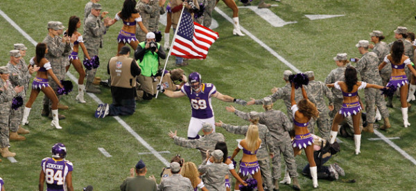 nfl salute to service campaign cost 2015