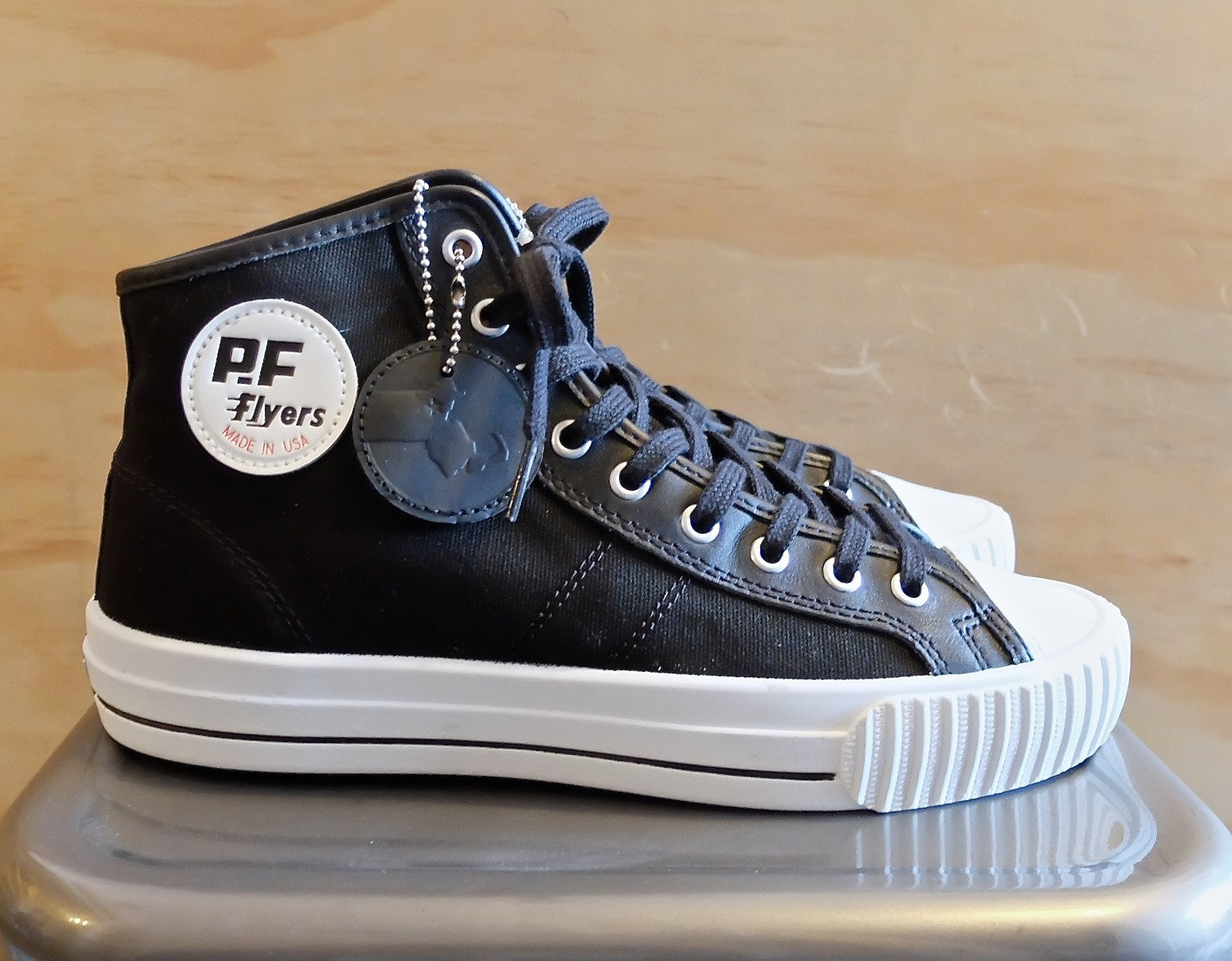 PF FLyers Made In USA Center Hi Movie TV Tech Geeks