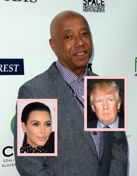russell simmons wants kim kardashian for president over donald trump 2015 gossip