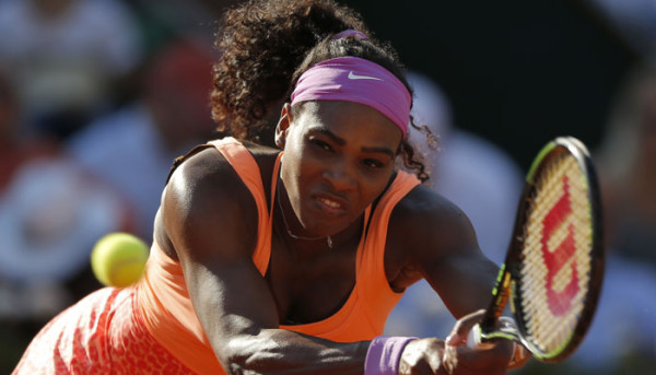 serena williams vs lucie safarova 2015 french open