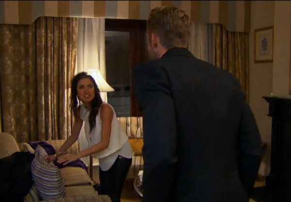 shawn booth confronts kaitlyn on the bachelorette catching up 2015