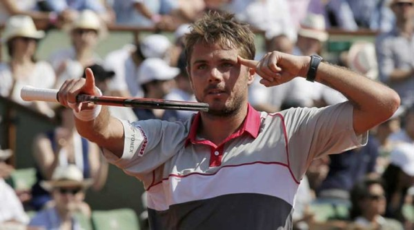 stan wawrinka beats jo wilfriend tsonga french open 2015