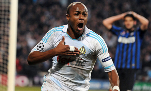 swansea city signs andre ayew soccer 2015