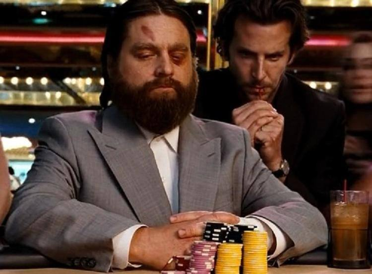 Hangover Gambling Scene