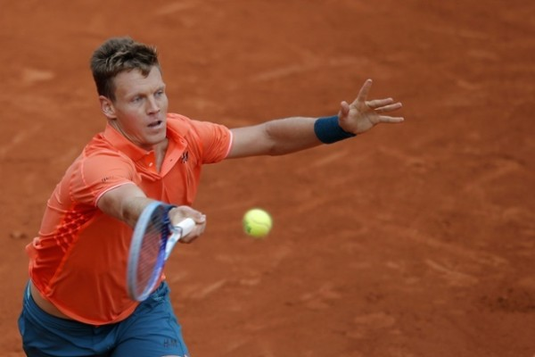 tomas berdych french open loser 2015
