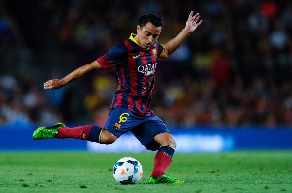 xavi most inspiring soccer players 2015
