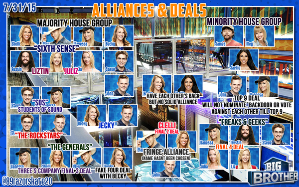 big brother 17 alliance 7 31 2015
