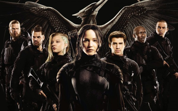 hunger games mockingjay part 2 marches loud proud cast images 2015