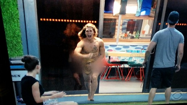 jace tries being nekked for big brother 17 but fails 2015