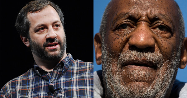 judd apatow on bill cosby whoopi goldberg 2015 gossip