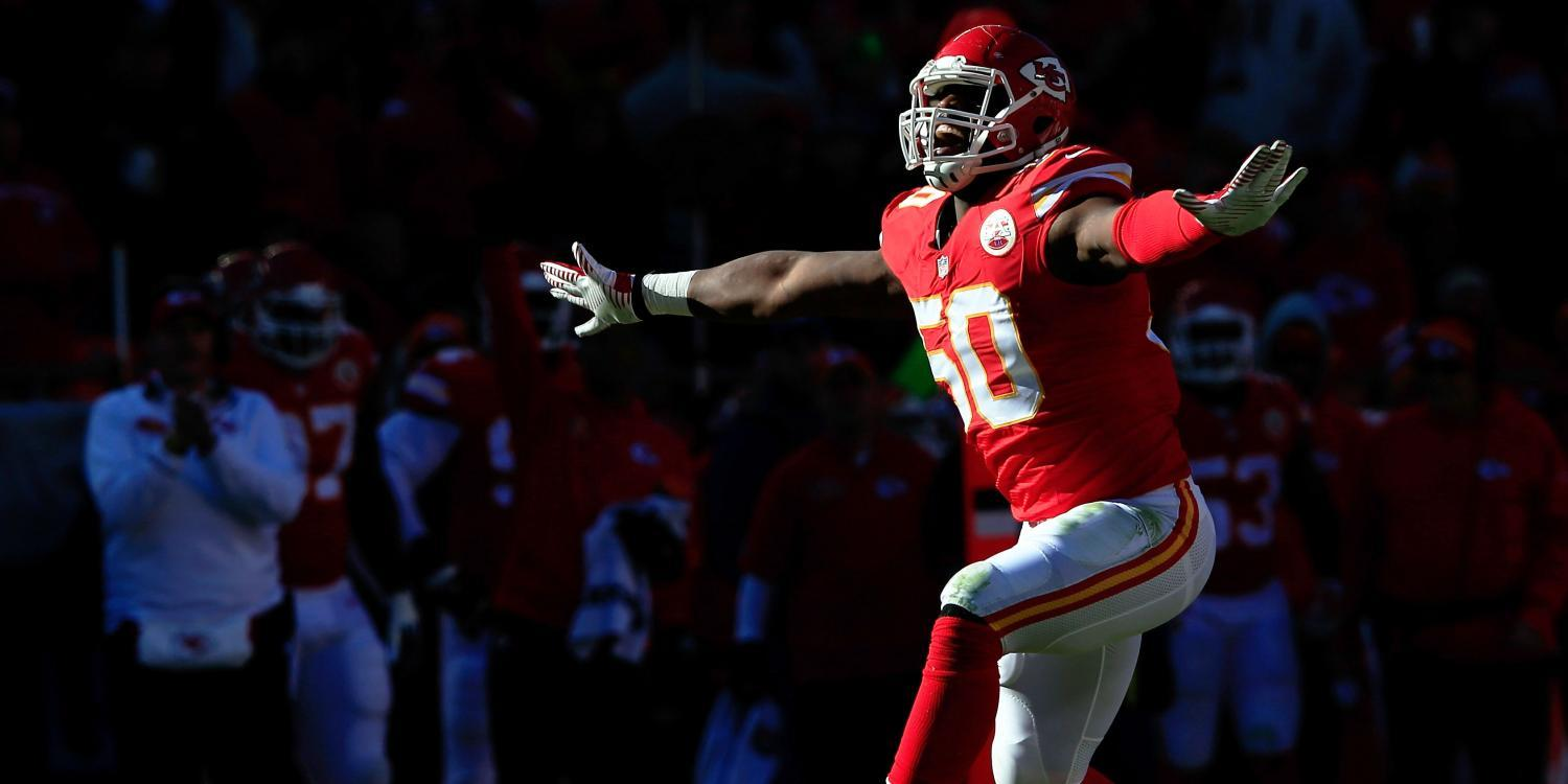 Justin Houston Strikes Gold 101 Million Contract To Stay