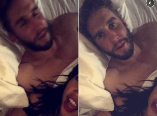 kaitlyn bristowe the bachelorette chooses shawn booth 2015 snapchat