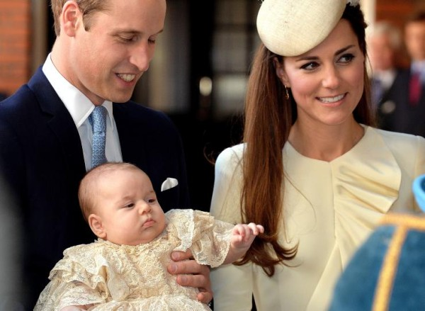 kate middleton charlotte christened for prince william 2015 gossip