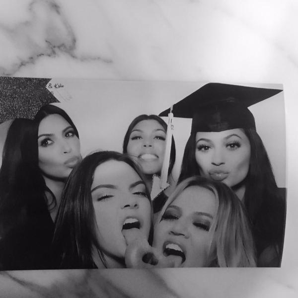 kylie jenner graduation party