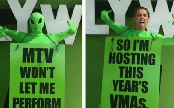 miley cyrus hosting mtv vma 2015 gossip