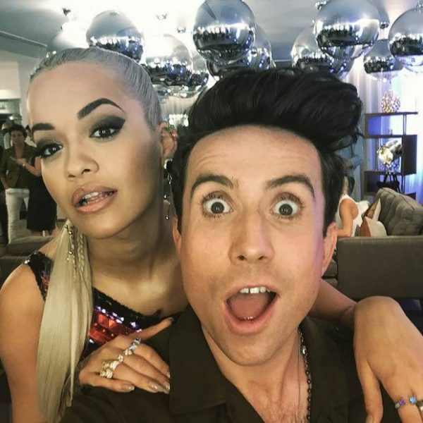 rita ora with nick grimshaw x factor 2015 gossip