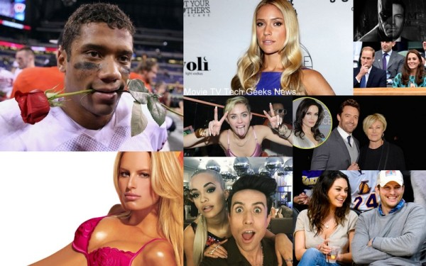 russell wilson miley cyrus batman 2015 gossip images