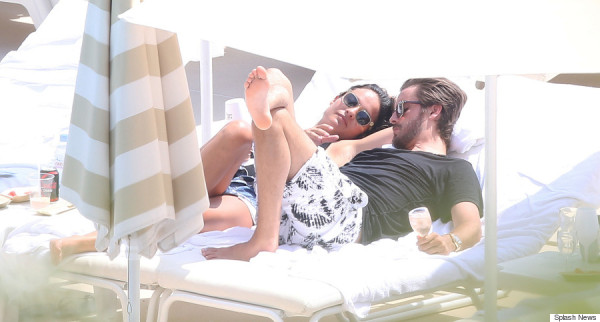 Scott Disick spotted with Chloe Bartoli on Monte Carlo beach in Monaco