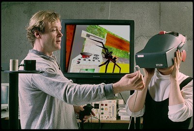 therapist using virtual reality on patient 2015