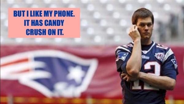 tom brady destroyed phone deflategate