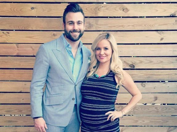 tyler johnson emily maynard second son arrives 2015 gosip