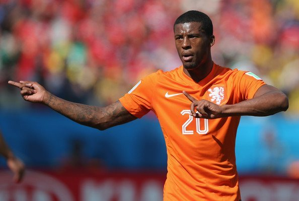 Georginio Wijnaldum top premier league soccer players 2015