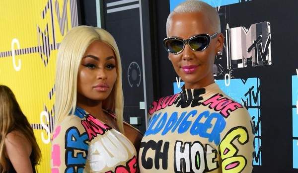 amber rose blac chyna mtv vma clothes 2015 gossip