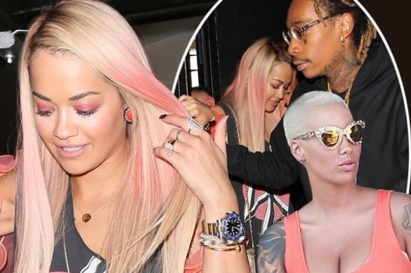amber rose wiz khalifa with rita ora love 2015 gossip