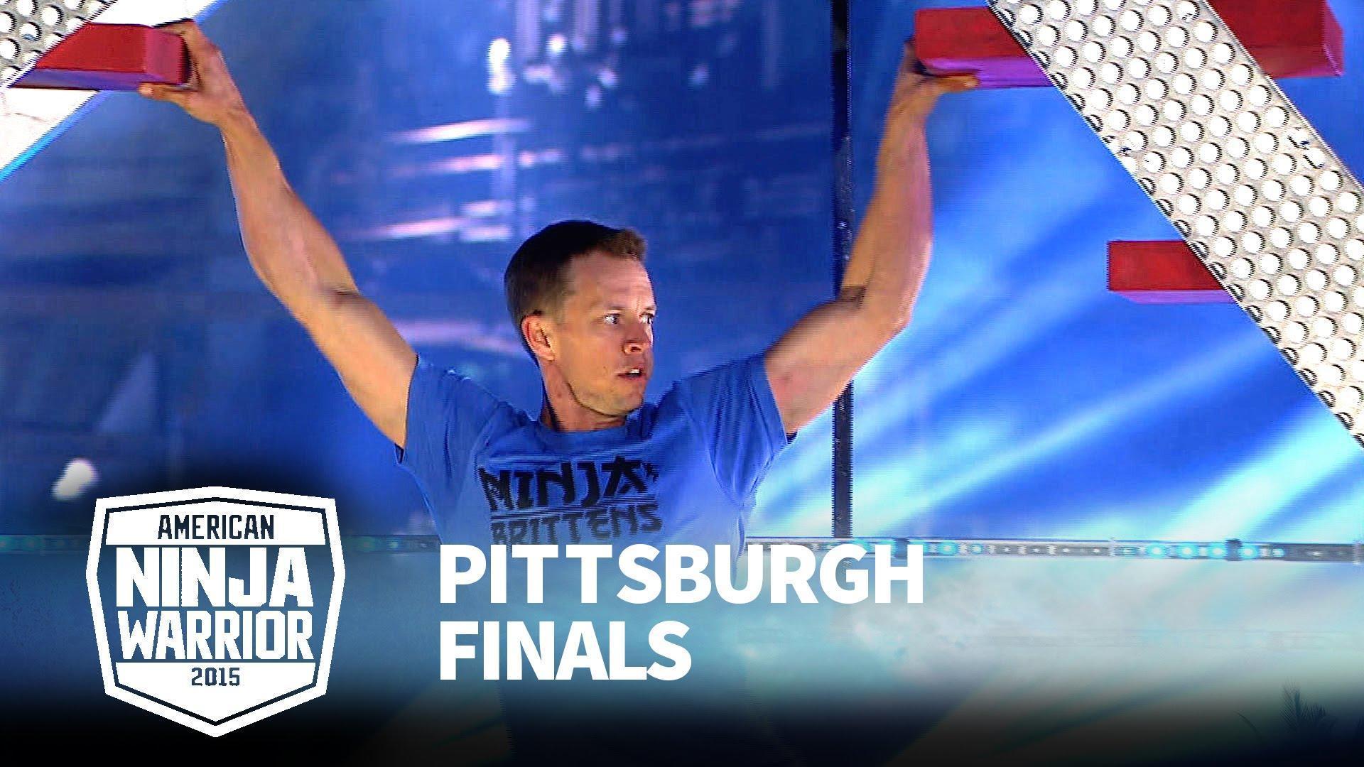American Ninja Warrior 711 Geoff Britten Pittsburgh Finals 2015