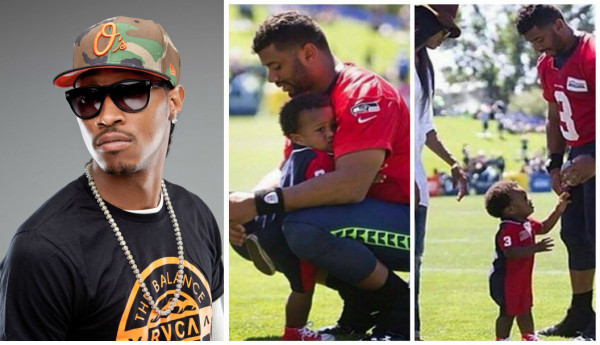 future russell wilson with son 2015 gossip