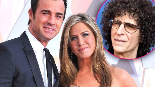 howard stern talks jennifer aniston justin theroux wedding 2015