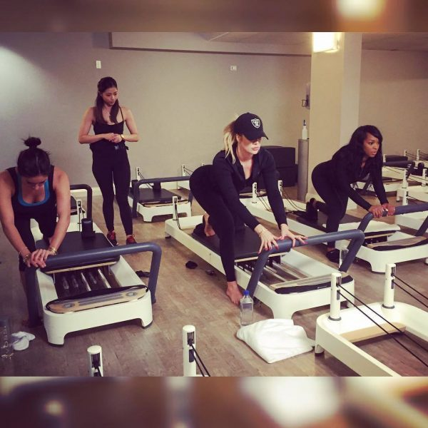 khloe kardashian work out 2015 gossip