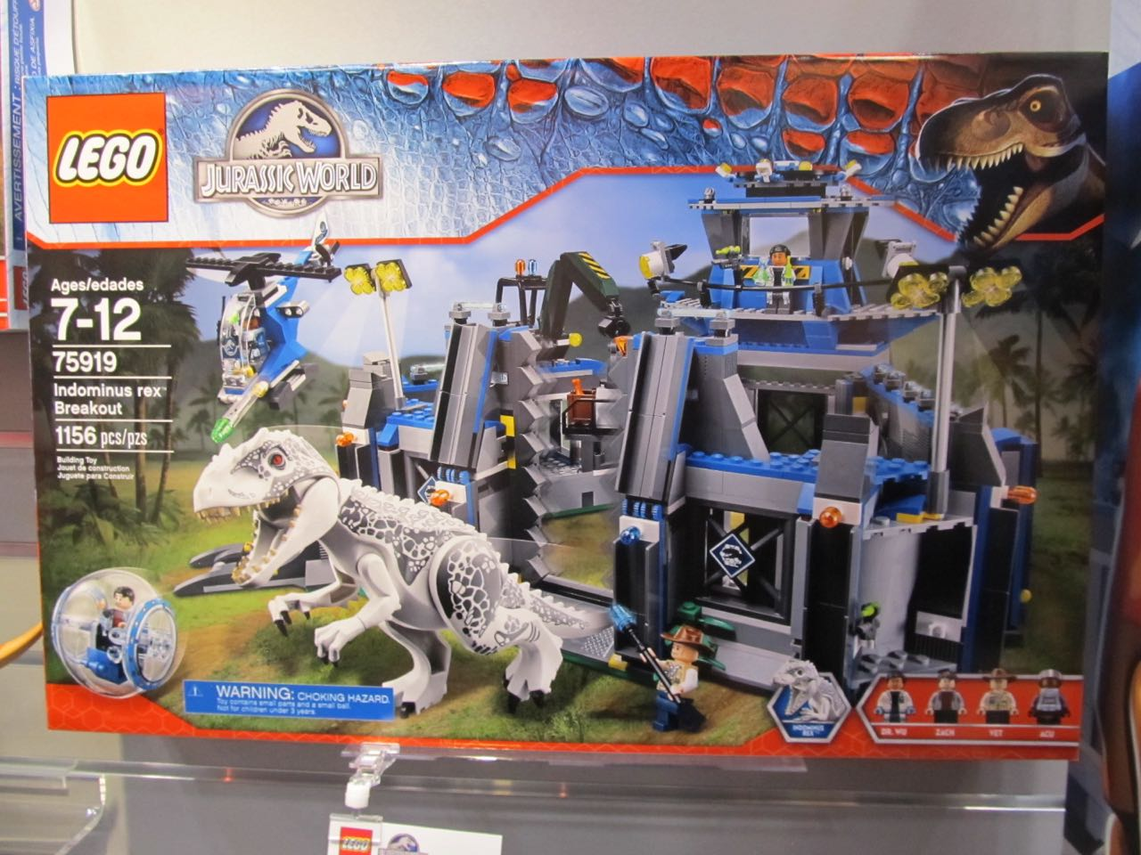 2015 hottest holiday toys lego jurassic world review - Jurasic park lego ...