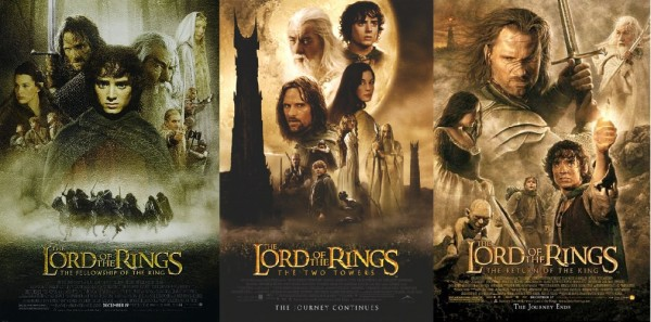 lord of the rings trilogy top college movies 2015