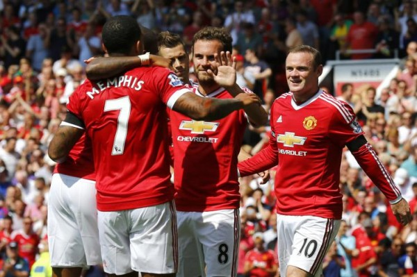 manchester united first two soccer matches 2015 images