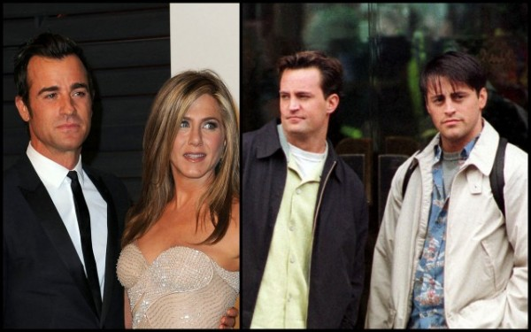 matt leblanc perry not invited to jennifer aniston wedding 2015 gossip