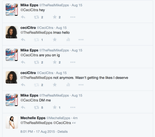 mike epps twitter catch