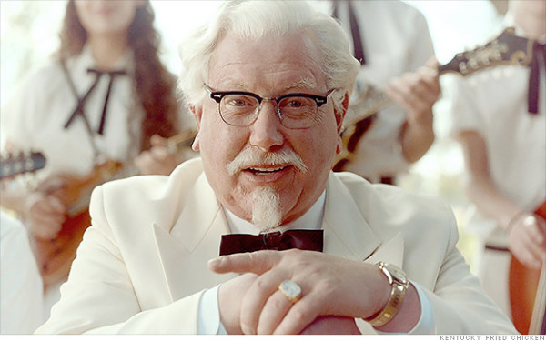 new colonel sanders 2015