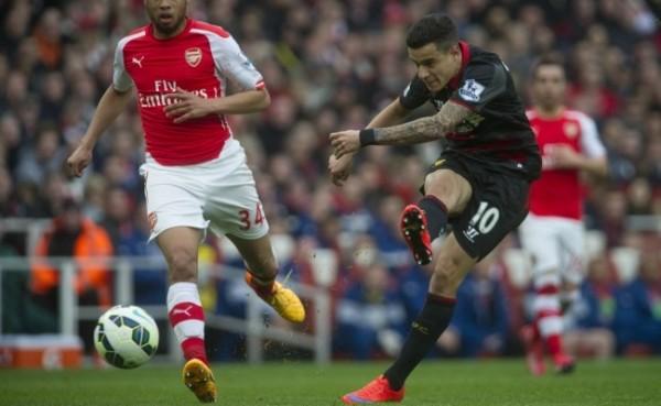 premiere league arsenal vs liverpool 2015 images