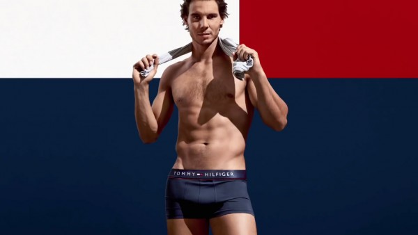 rafael nadal under hilfiger bulge tennis 2015