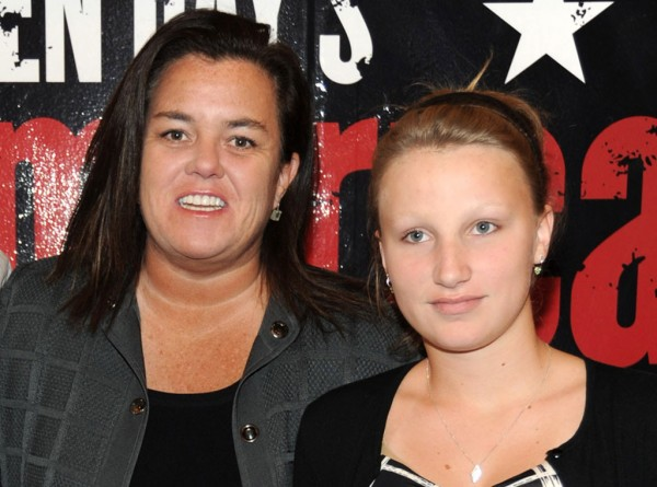 rosie odonnell daughter found 2015 gossip