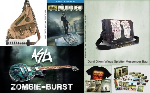 the walking dead movie tv tech geeks giveaway 20125