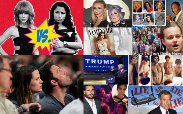 top 10 biggest celebrity moments 2015 images collage