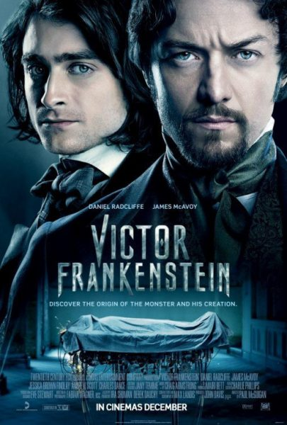 victor frankenstein movie poster 2015