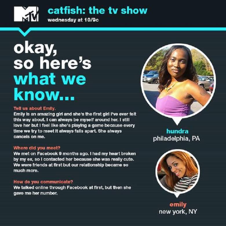 CATFISH 417 Hundra, Emily & Machine Gun Kelly | Movie TV