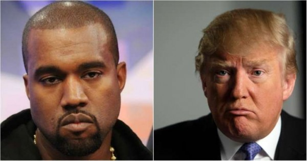 donald trump vs kanye west for president 2015 gossip