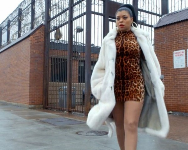 empire cookie lyon fashion leopard white fur 2015