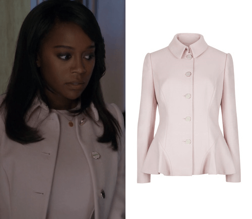 htgawm fashion michaela pink blazer 2015