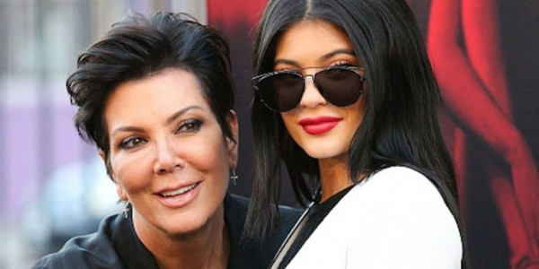 kris jenner not happy wiht kylie jenner lips 2015 gossip